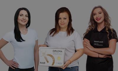 Обучители на Kodi Professional - Десислава Джамбазова, Анна Попова и Анна Адамовска